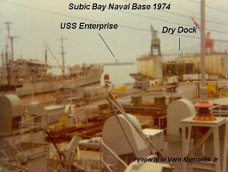 Subic Bay Naval Base Oct 1974