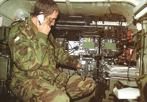 Clansman Radio Setup In Land Rover 110 Flickr Photo