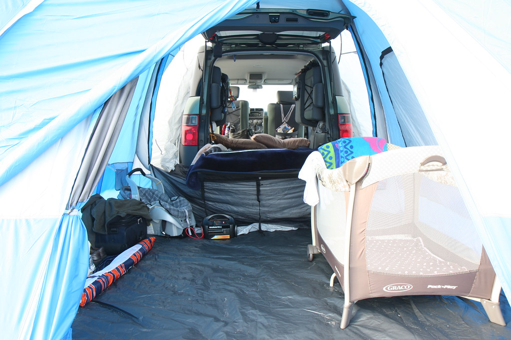 "Honda Element Camper >> Element Camping | This is the official ""Honda"" tailgate tent… 