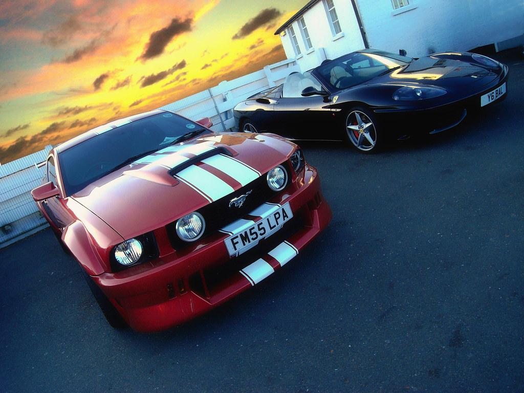 Mustang Ferrari Tom Skinner Flickr