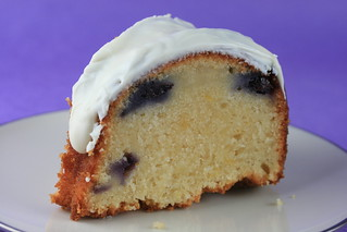 Food Librarian - Lemon Blueberry Bundt Cake | by Food Librarian