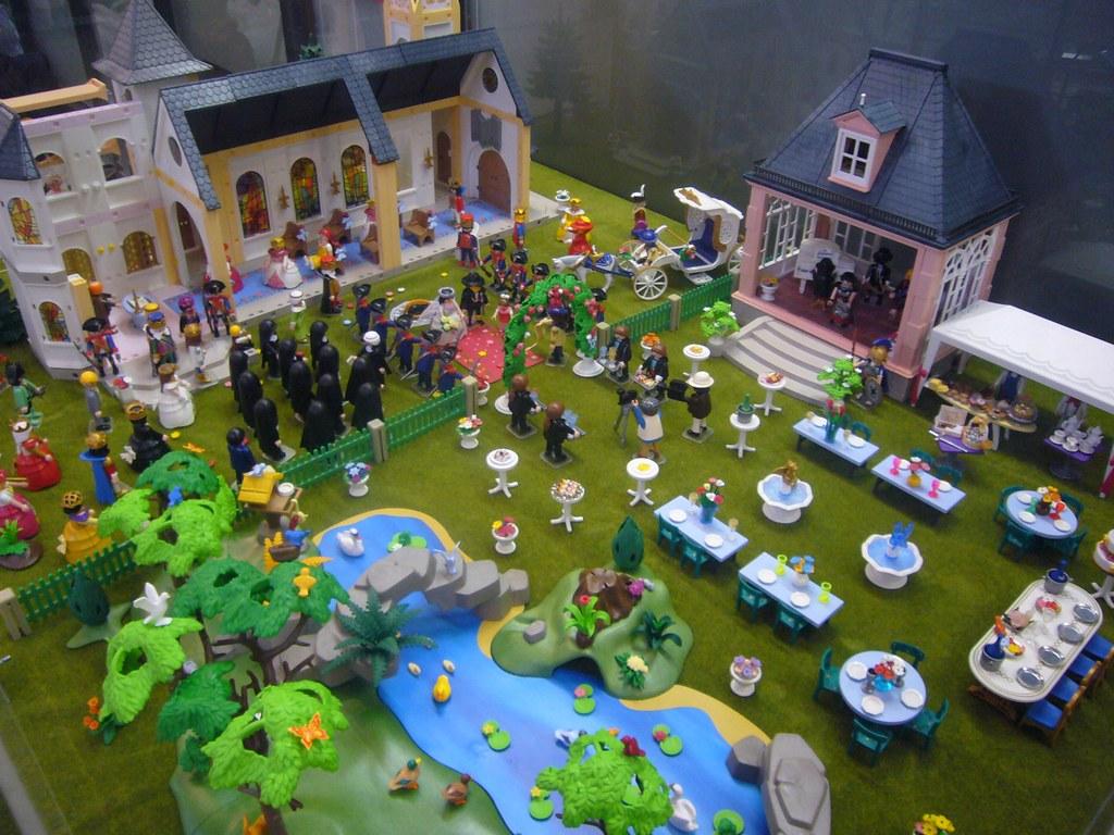 Diorama Boda Playmobil Diorama Que Montamos En La 7 170