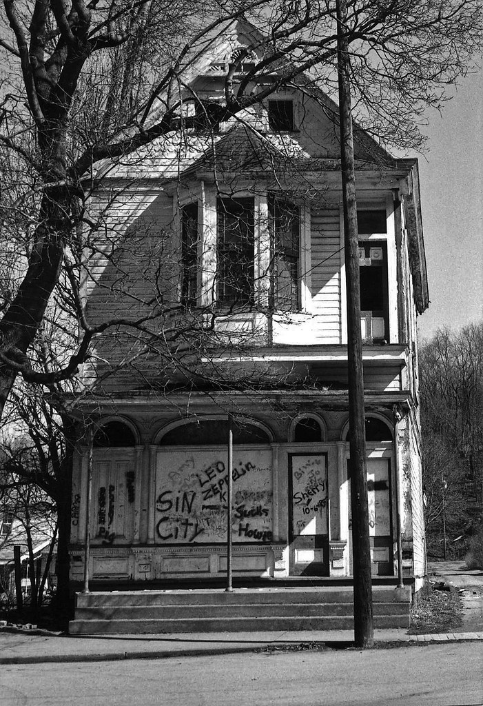 Sin City Dawson Pa The Old Post Office In 1987 I