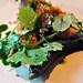 Restaurant Noma: Stegt flæsk med ramsløg og grillet agurk