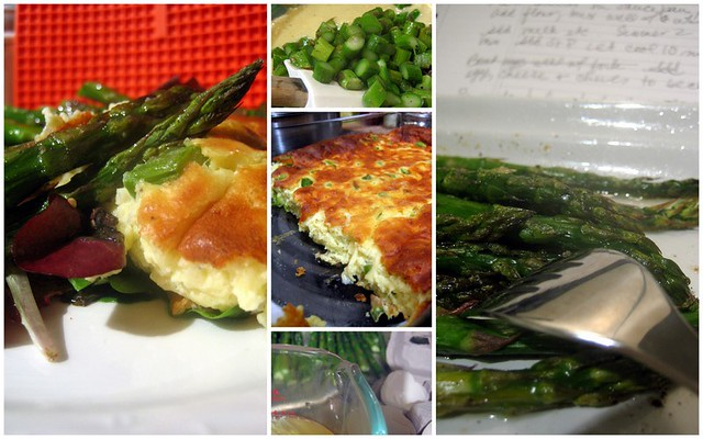 Cheese and Asparagus Souffle Collage | Cheese and Asparagus ...