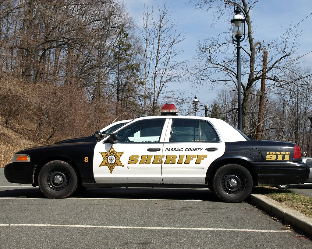 Passaic County Sheriff Car New Jersey Lambert Castle