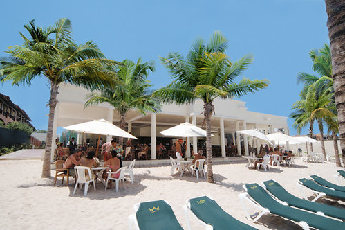 Map Of Hotels On The Beach In Playa Del Carmen
