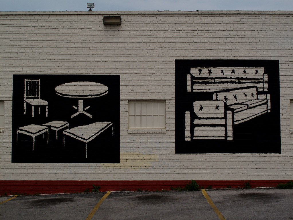 Furniture And Appliance Store Mural Part 1 David Antis Flickr