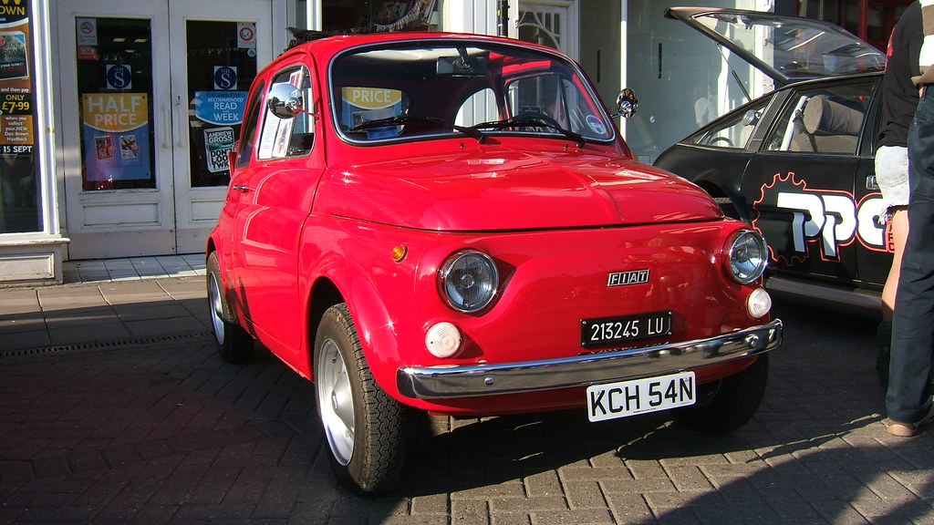 Fiat 200 Fiat 200 Photo By Www Theplatemarket Com The