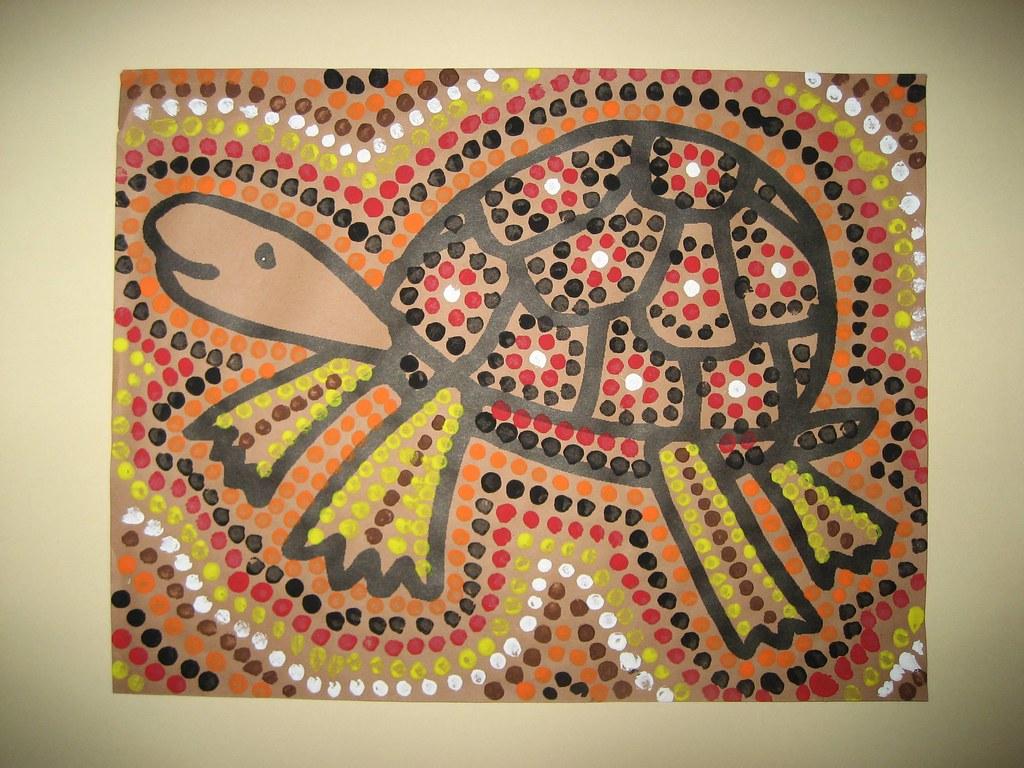 Aboriginal Dot Art Templates For Kids 8723208 Hitori49fo