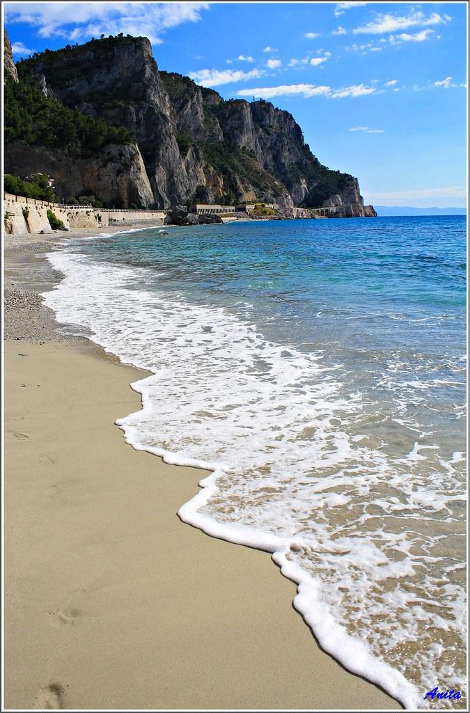 Baia dei saraceni sabbia mare cielo la baia dei for Setacciavano la sabbia dei fiumi