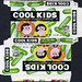 Just Born - Cool Kids - no offer - candy box - 1970's
