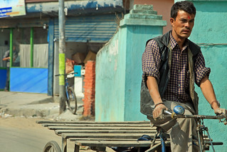 Bicyclist in Kathmandu | by World Bank Photo Collection