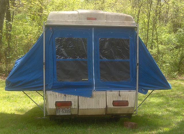 Vintage Pop Up Camper
