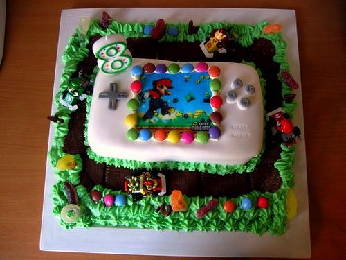 Callum's Mario Kart Cake | by
