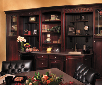 custom office cabinets - fieldstone cabinetry | this office … | flickr