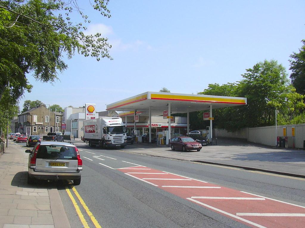 Shell Garage, Manchester Road, Nelson,Lancashire ...