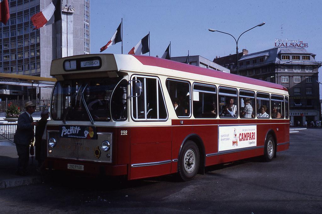 Jhm 1971 1089 mulhouse bus berliet jean henri manara - Boutique free mulhouse ...