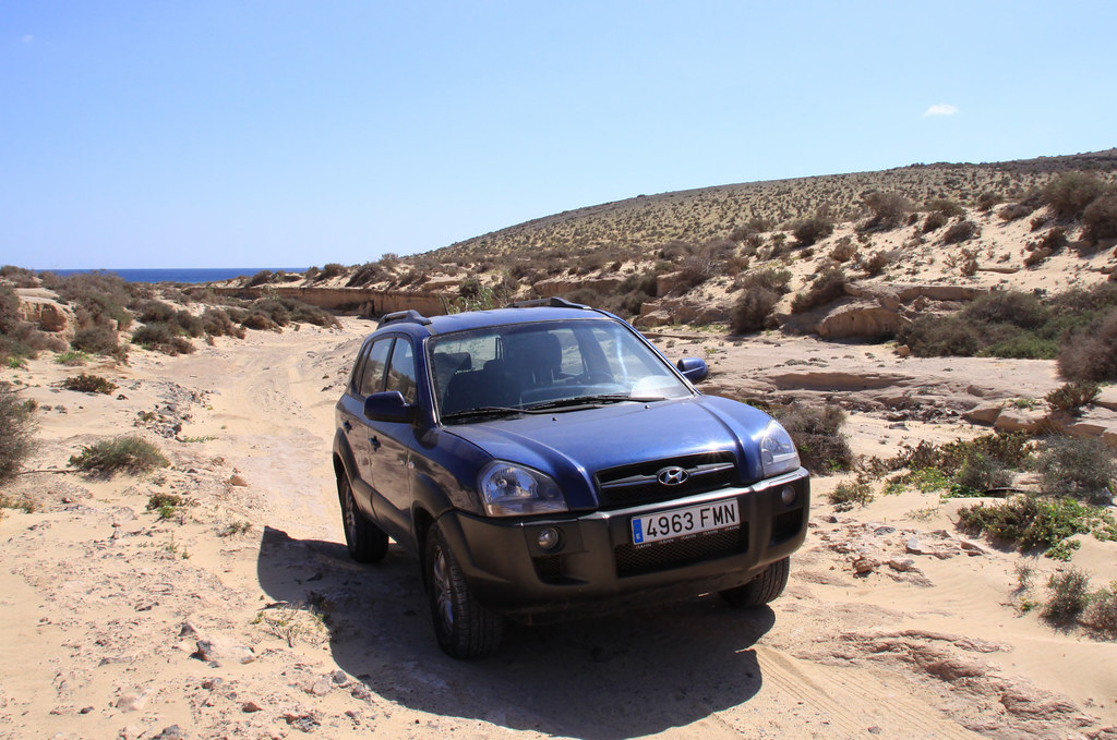 Hyundai Tucson 2 Fuerteventura Has Many Off Road Tracks
