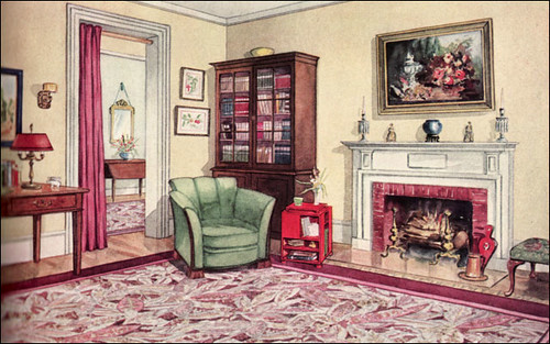 1929 modern traditional living room flickr photo sharing for Living room ideas 1920s