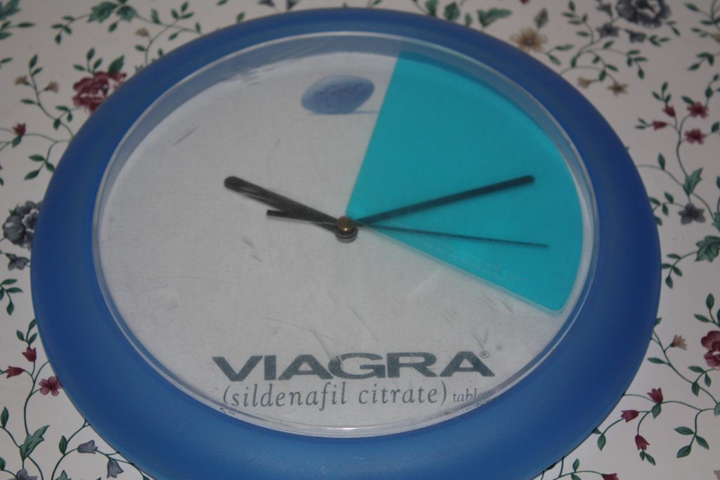 90 365 My Abused Viagra Clock It Just Won T Stay Up