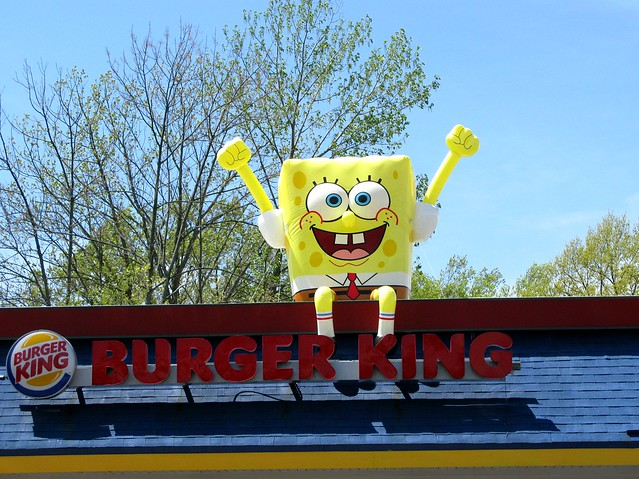Spongebob Fast Food Coliseum Audience