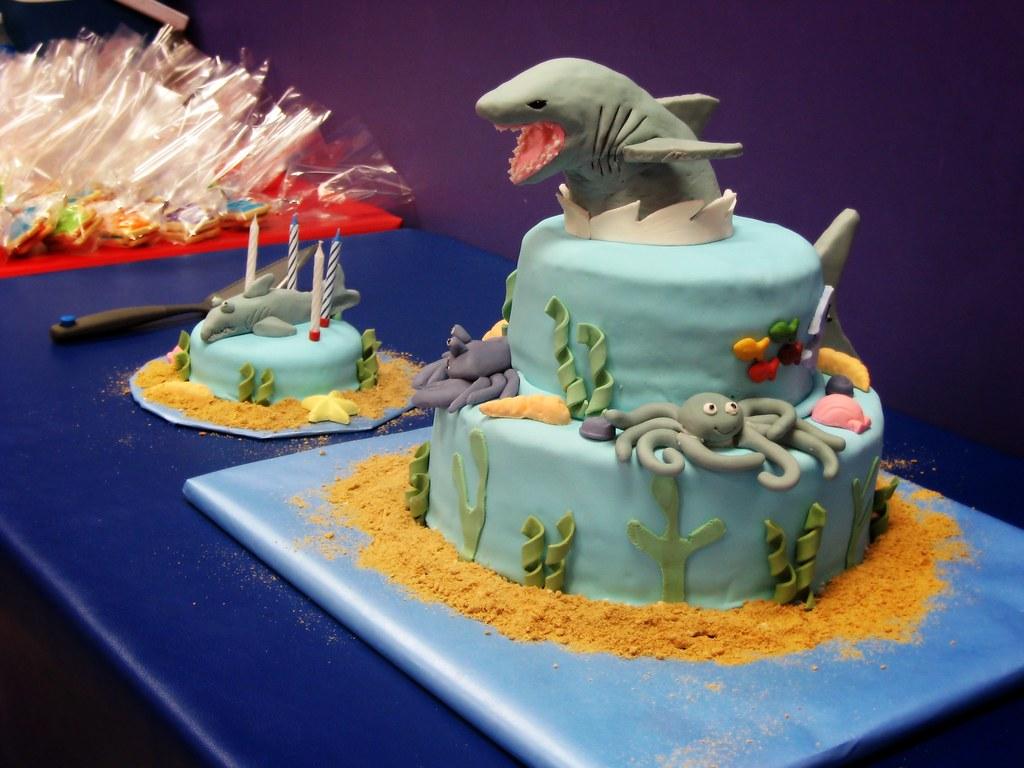 Birthday Cake Free Image Blue