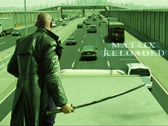 Laurence Fishburne as Morpheus in The Matrix Reloaded | by scriptingnews