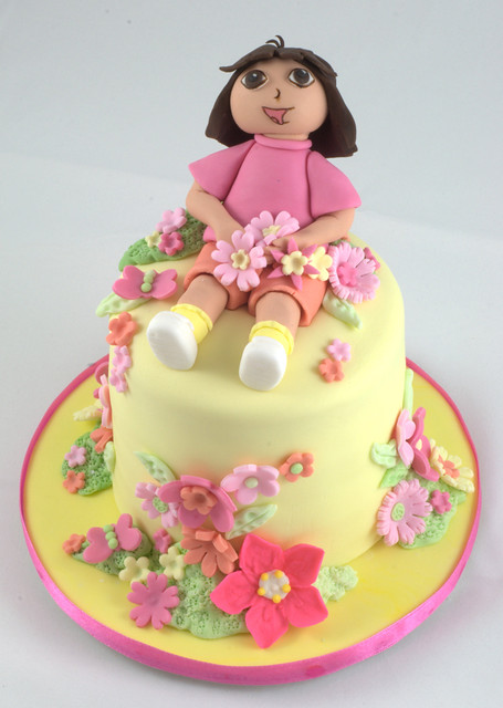 Dora Birthday Cake I Made This Last Weekend For A