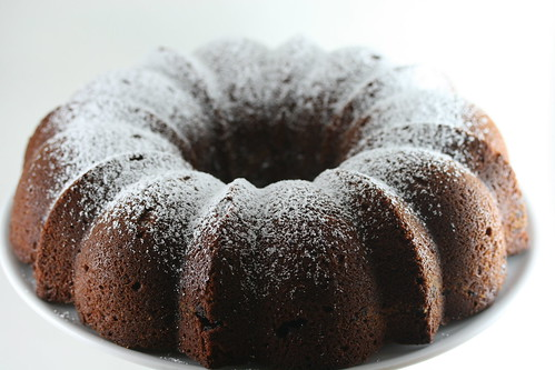 Nutty, Chocolaty, Swirly Sour Cream Bundt Cake (Dorie Greenspan's recipe) | by Food Librarian