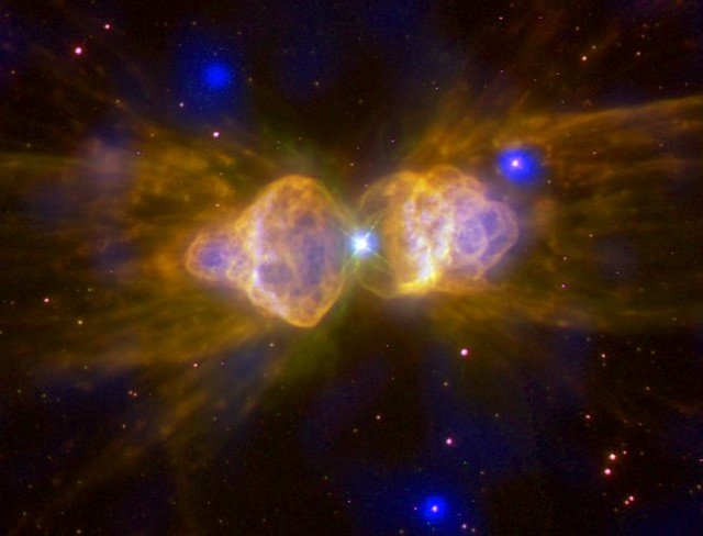 Ant Nebula: Fast Winds From a Dying Star (NASA, Chandra, 2 ...