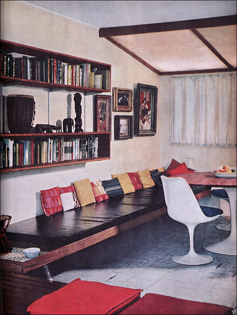 1960 modern home office source better homes gardens flickr - Hello this is my new picture garden interior ...