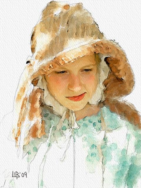 Cat Hat Painting