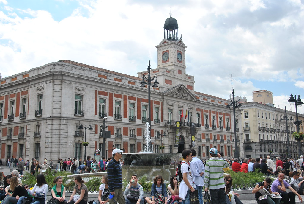 Puerta del sol edificio sede de la comunidad de madrid for Sede de la presidencia de la comunidad de madrid