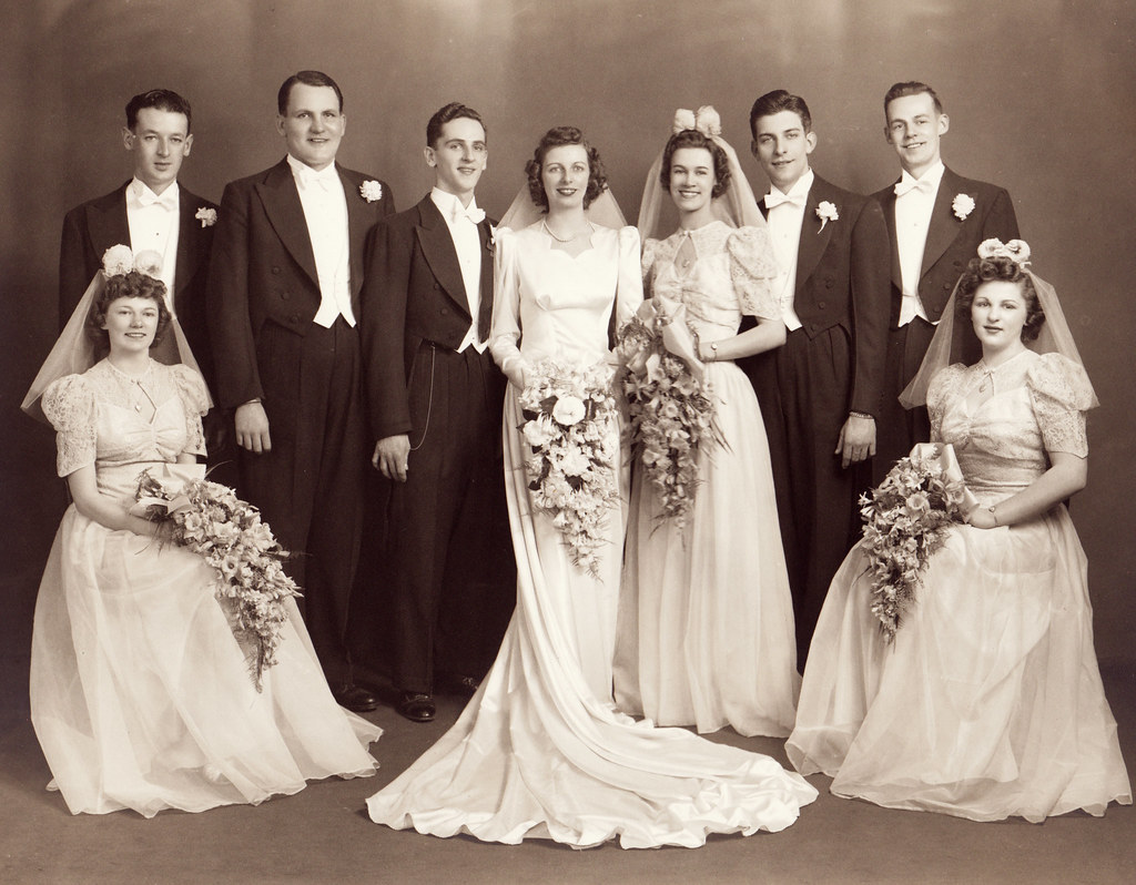 Styles Of Wedding Photography: Wedding Photo Of My Grandparents
