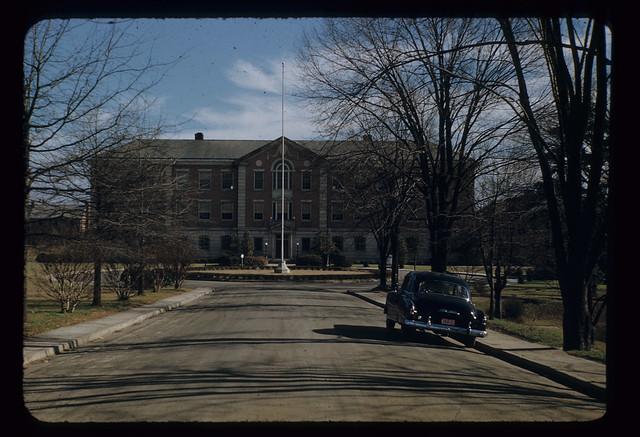 North Carolina Central University building, 1952-01 ...