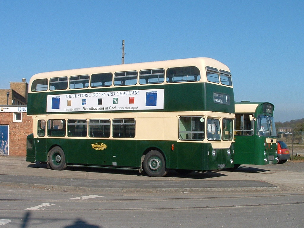 Leyland Atlantian Ex Maidstone And District Now Owned By