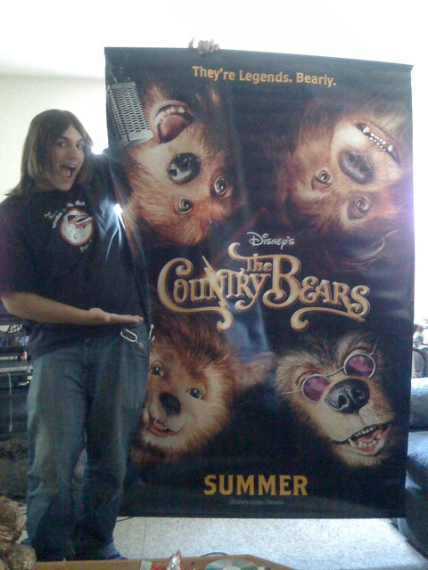 Vinyl 6 Disneys The Country Bears Double-Sided Movie ...