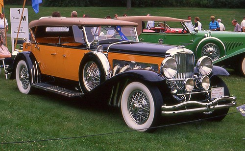 All Car Company >> 1932 Duesenberg SJ Derham Tourster | Flickr - Photo Sharing!