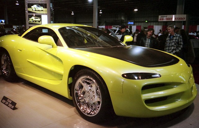 1994 Dodge Venom Concept Car Three Years After Its Introdu Flickr