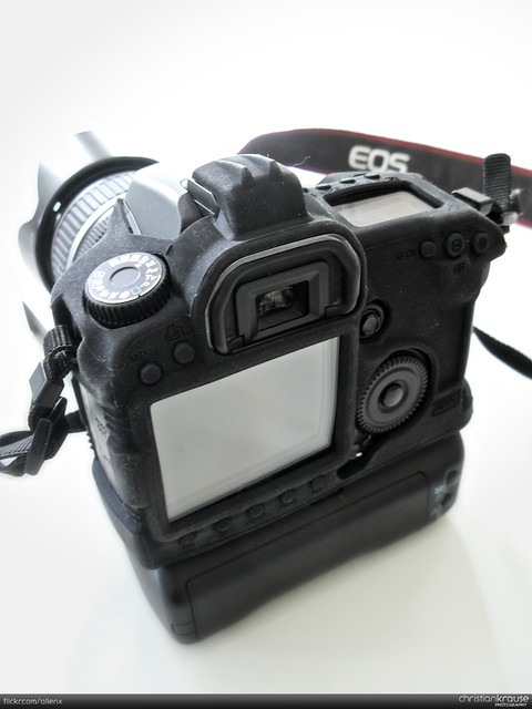 Canon EOS 40D with Battery Grip BG-E2N and Body Armour | Flickr