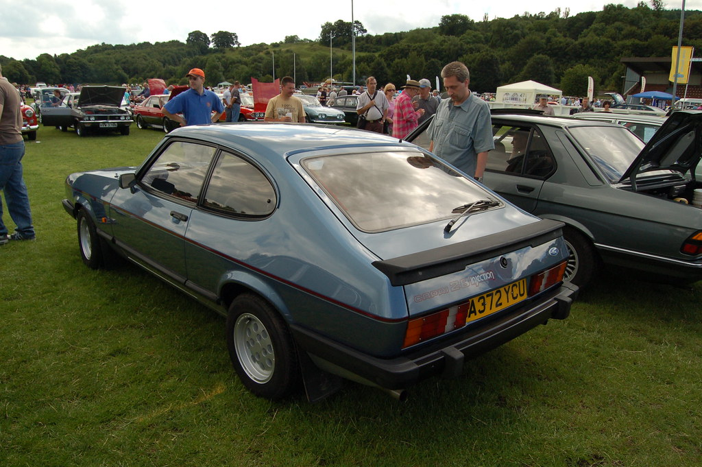 Ford Car Image >> Corbridge Classic Car Show | Ford Capri 2.8 Injection Specia… | Flickr