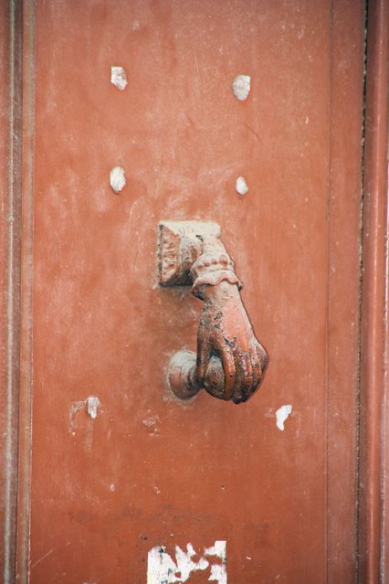 ... Funny door knocker | by lis of the north & Funny door knocker | lis of the north | Flickr