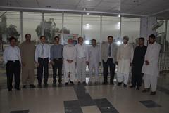 "District Nazim with Organizers of Burewala Photo Exhibition  -- ""Other Pakistan"" by Dr. Shahid-Burewala Trekkerz (What Next)"