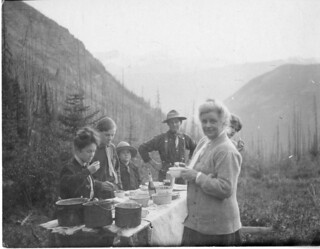Charles Doolittle Walcott (1850-1927) family campsite in the Canadian Rockies | by Smithsonian Institution
