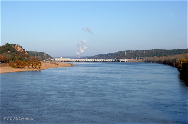 Arkansas River And Dardanelle Lock And Dam 9899a Flickr