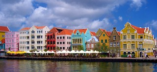 The beautiful Town of Willemstad on the Caribbean Island of Curacao | by MarsW