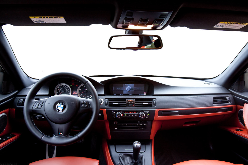 BMW e90 M3 - front seats | 2008 BMW M3 Sedan with the