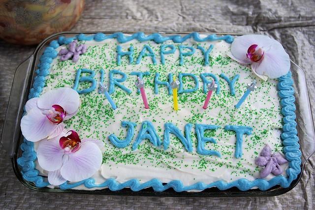 Janet Birthday Cake