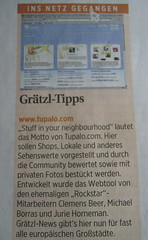 Tupalo.com as a net-tip in Austria's Die Presse | by tupalo.com